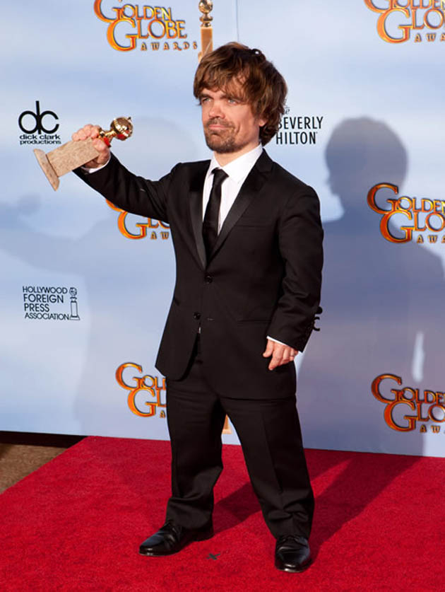 Peter Dinklage Golden Globes Best Supporting Actor
