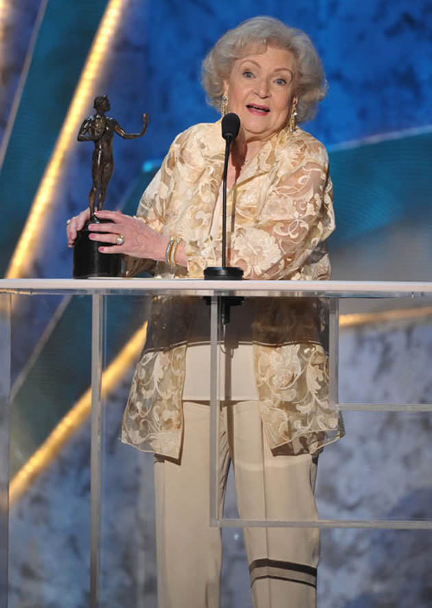 Betty White SAG Awards winner and loser