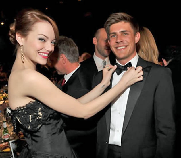 Chris Lowell Emma Stone SAG Awards Best Cast