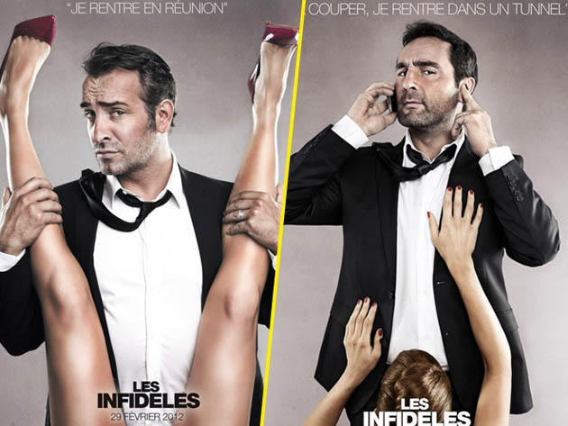 Jean Dujardin The Players scandalous posters 9/11 joke removed