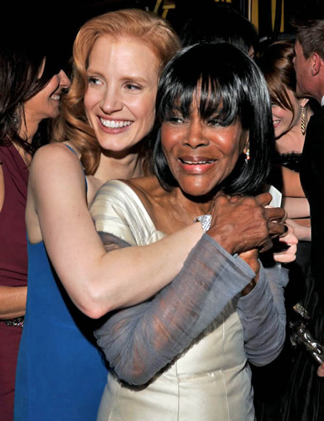 Jessica Chastain Cicely Tyson SAG Awards winners