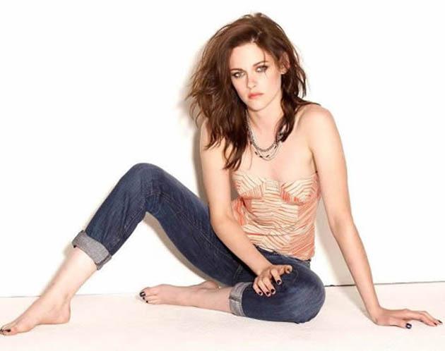 Kristen Stewart Glamour photos outtakes Not quite the Bella Swan look