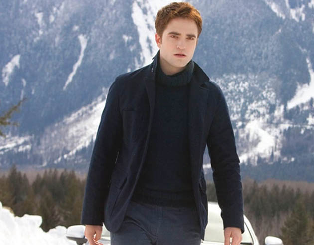Robert Pattinson Twilight Breaking Dawn Part 2 Edward Cullen final battle