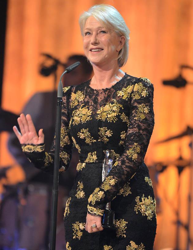 Helen Mirren European Film Awards: The Queens gets Outstanding Achievement in World Cinema