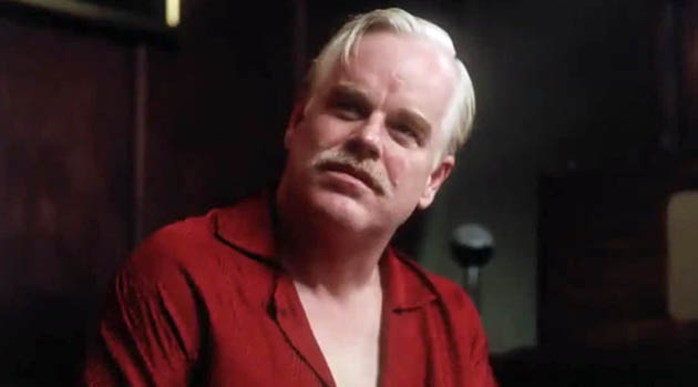 The Master Philip Seymour Hoffman: L Ron Hubbard + Church of Scientology vs Lancaster Dodd + The Cause