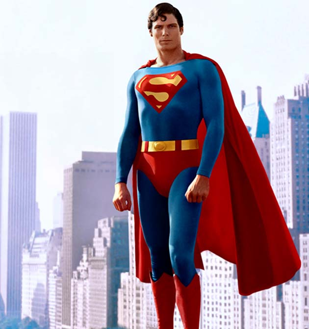 Christopher Reeve Superman 1978 First and most successful 'Superman' movie