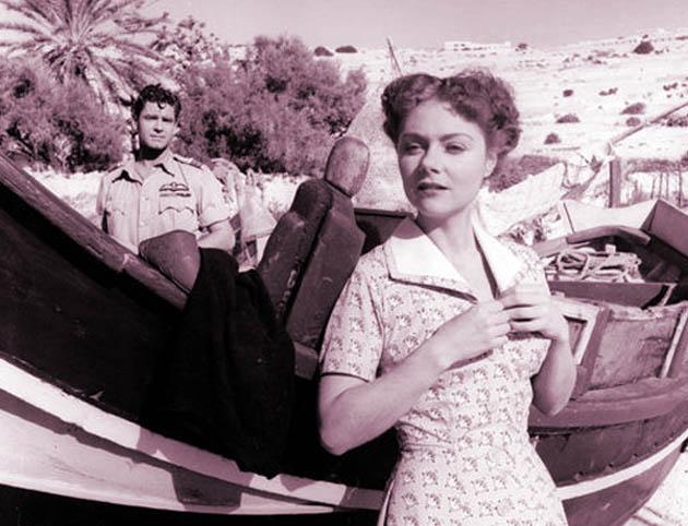 Renée Asherson Malta Story Anthony Steel