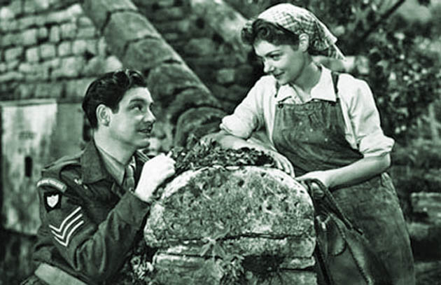 Robert Donat and Renée Asherson The Cure for Love