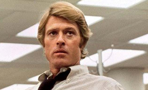 Robert Redford Young All the President's Men