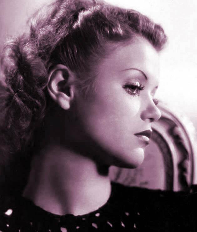 Film Actress Simone Simon