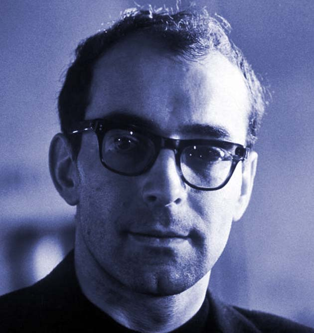 Jean-Luc Godard young