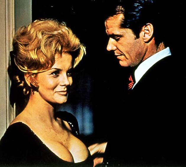 Ann-Margret Carnal Knowledge Jack Nicholson Best Supporting Actress Oscar nomination