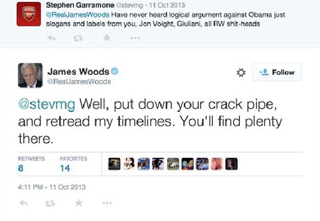 James Woods Tweet