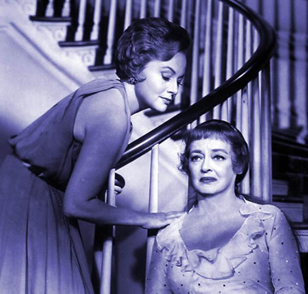 Olivia de Havilland Hush Hush Sweet Charlotte Bette Davis