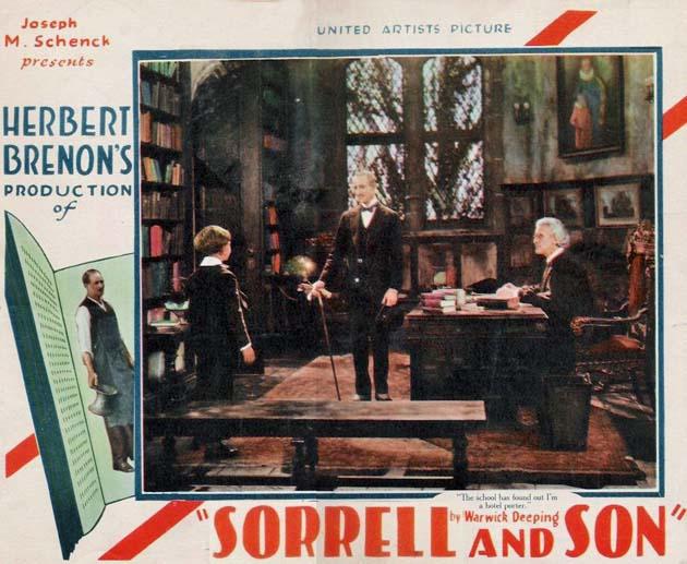 Sorrell and Son 1927 lobby card