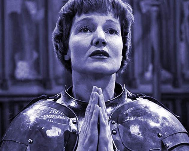 Old Vic Saint Joan Constance Cummings perfect as George Bernard Shaw heroine