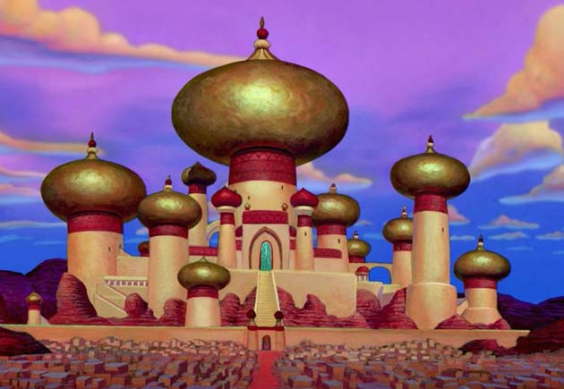 Agrabah Aladdin city Republicans want to bomb