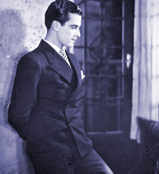 Ramon Novarro Mexican actor played numerous nationalities long before the p.c. police