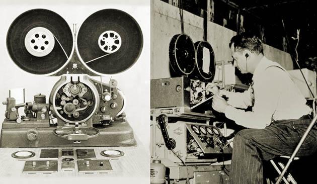 RCA Optical Recording Machine