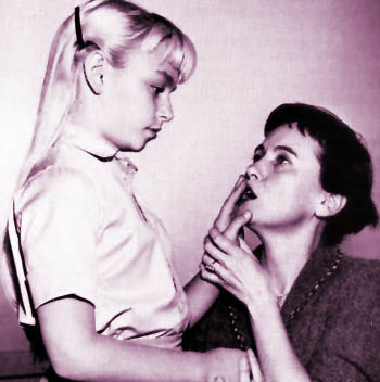 Teresa Wright The Miracle Worker Patty McCormack