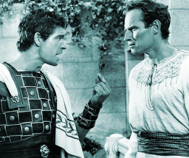 Ben-Hur 1959 Stephen Boyd Charlton Heston in 31 Days of Oscar