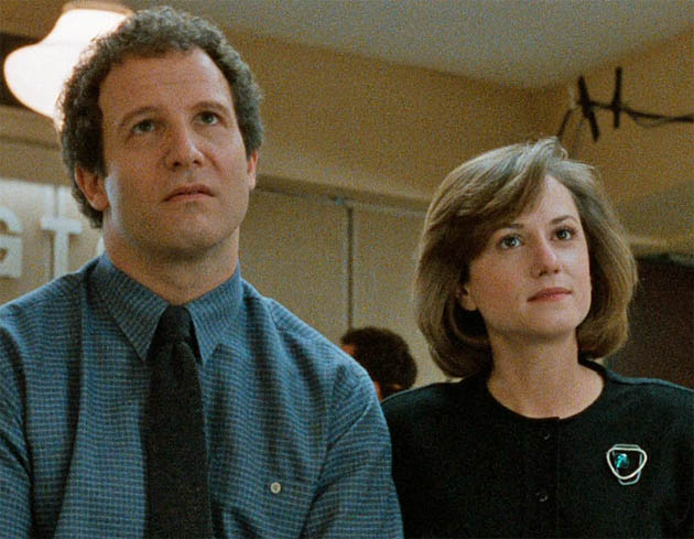 Broadcast News Albert Brooks Holly Hunter TCM tackles world of infotainment