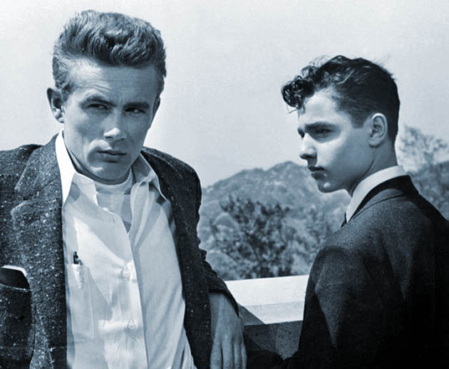 James Dean Rebel Without a Cause Sal Mineo gay subtext in teen drama