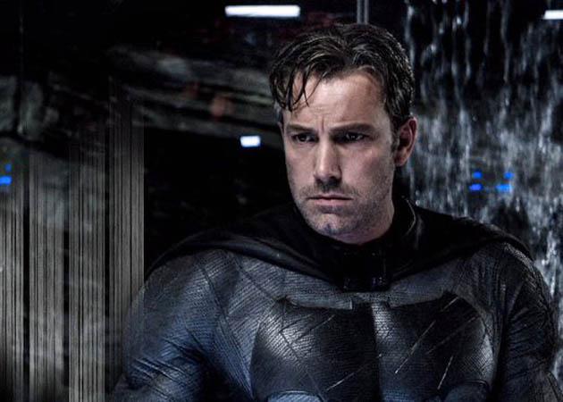 Batman v Superman Ben Affleck staring ever downward in rumination