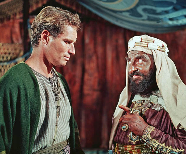 Ben-Hur 1959 Charlton Heston Hugh Griffith record-breaking Best Picture Oscar winner