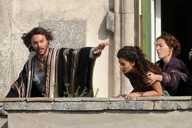 Ben-Hur 2016 Jack Huston Ayelet Zurer Hand of God Destroys Happy Jewish Family Life
