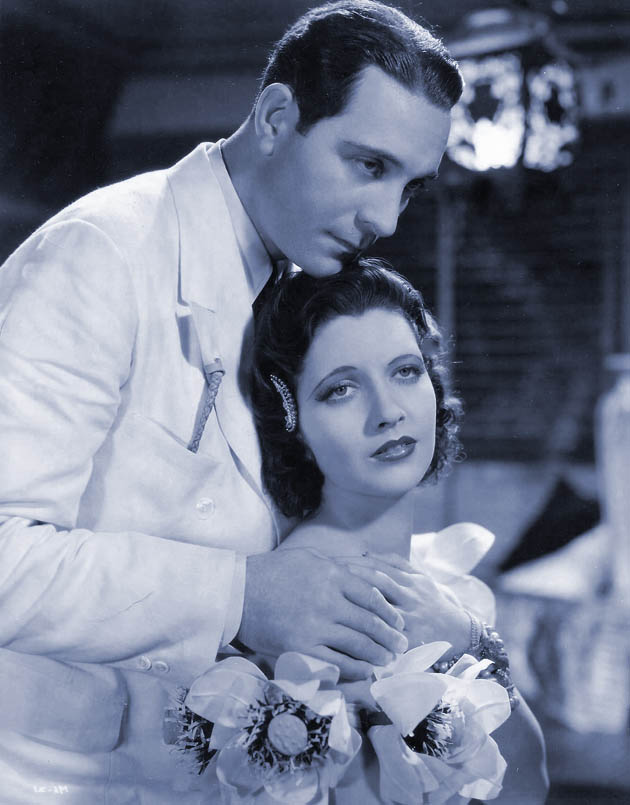 Ricardo Cortez Mandalay with Kay Francis: white slave trade and romance in Burma leads to former Latin Lover death
