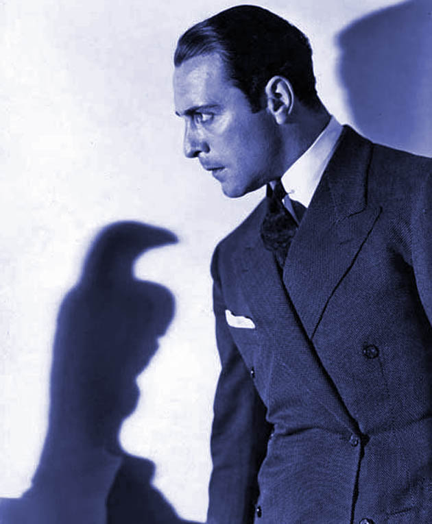 The Maltese Falcon Ricardo Cortez as Sam Spade: former Latin Lover could have become great film noir star