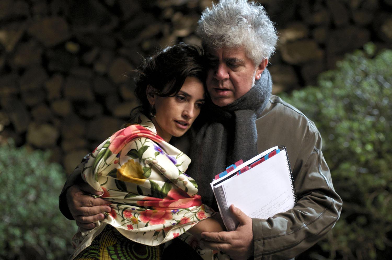 Penélope Cruz, Pedro Almodovar in Broken Embraces