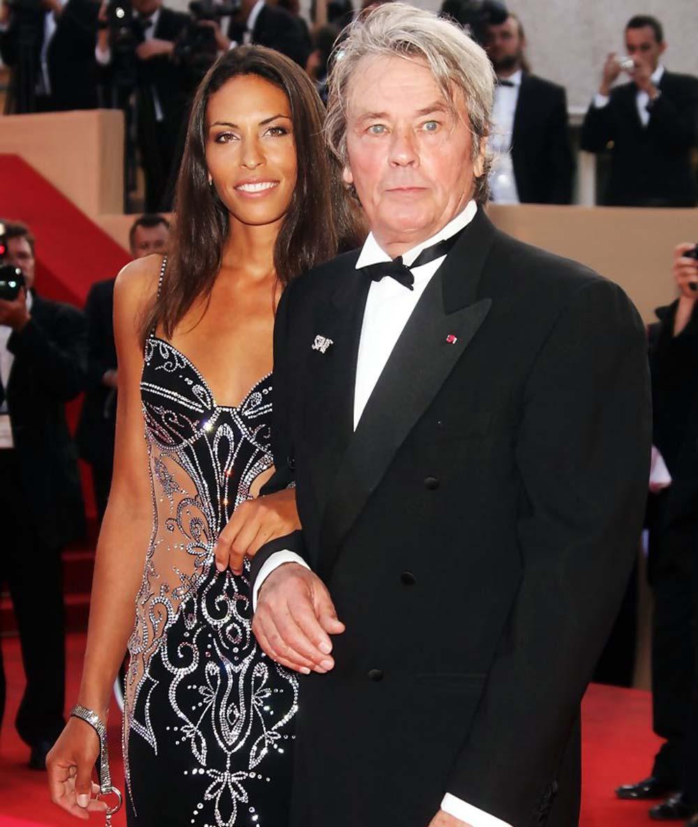 Alain Delon Bianca di Sofia Cannes