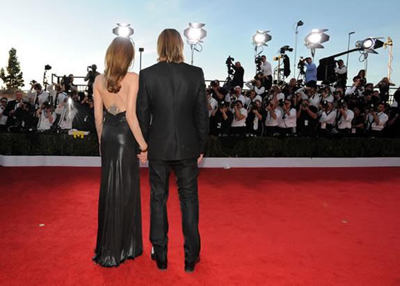 Angelina Jolie tattoo Brad Pitt