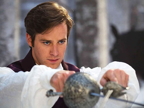 Armie Hammer, Prince Charming, Snow White