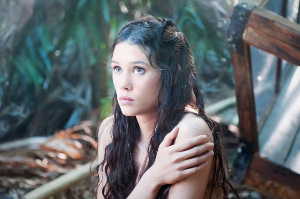 Astrid Bergès-Frisbey as Syrena the Mermaid, Pirates of the Caribbean: On Stranger Tides