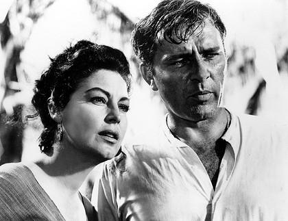 Ava Gardner, Richard Burton, The Night of the Iguana