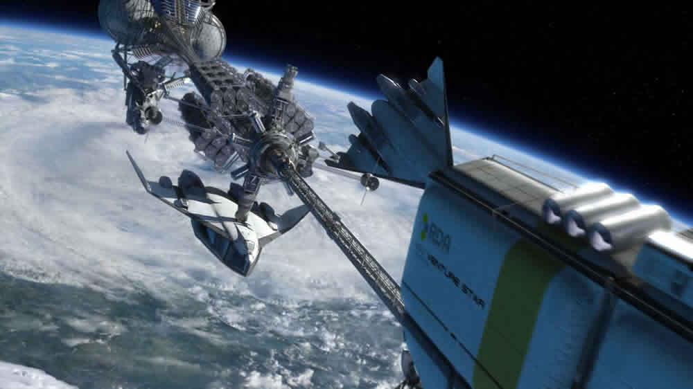 spaceship Avatar James Cameron