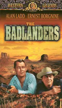 The Badlanders with Alan Ladd, Ernest Borgnine