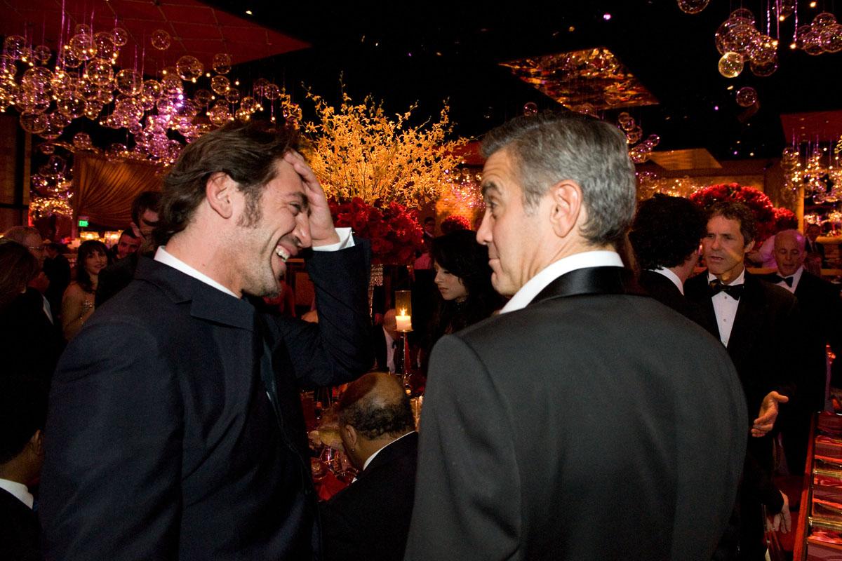 Javier Bardem, George Clooney