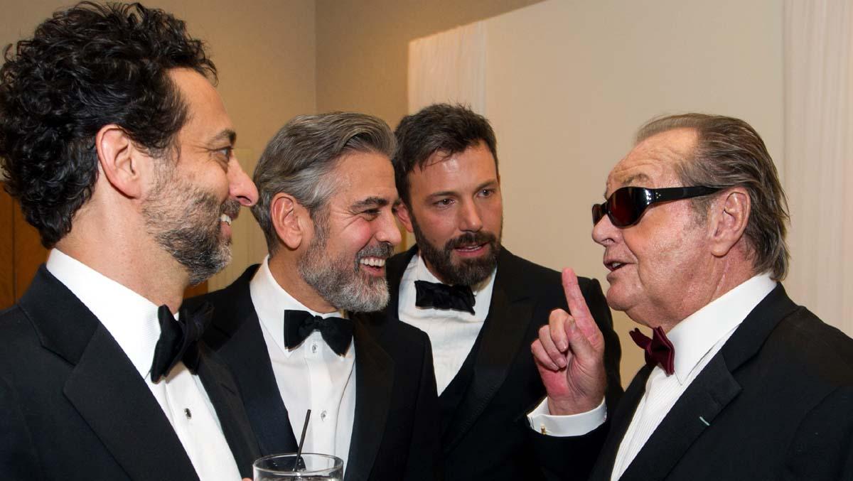 Ben Affleck Jack Nicholson George Clooney Grant Heslov