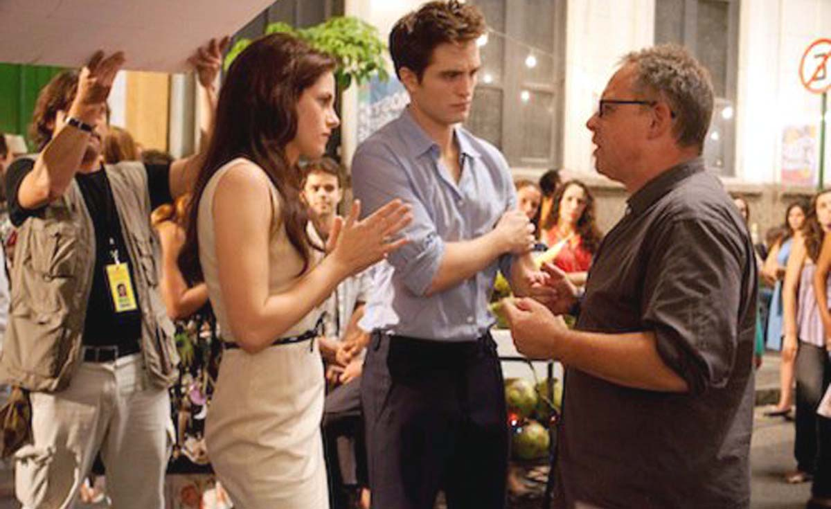 Bill Condon Breaking Dawn Robert Pattinson Kristen Stewart