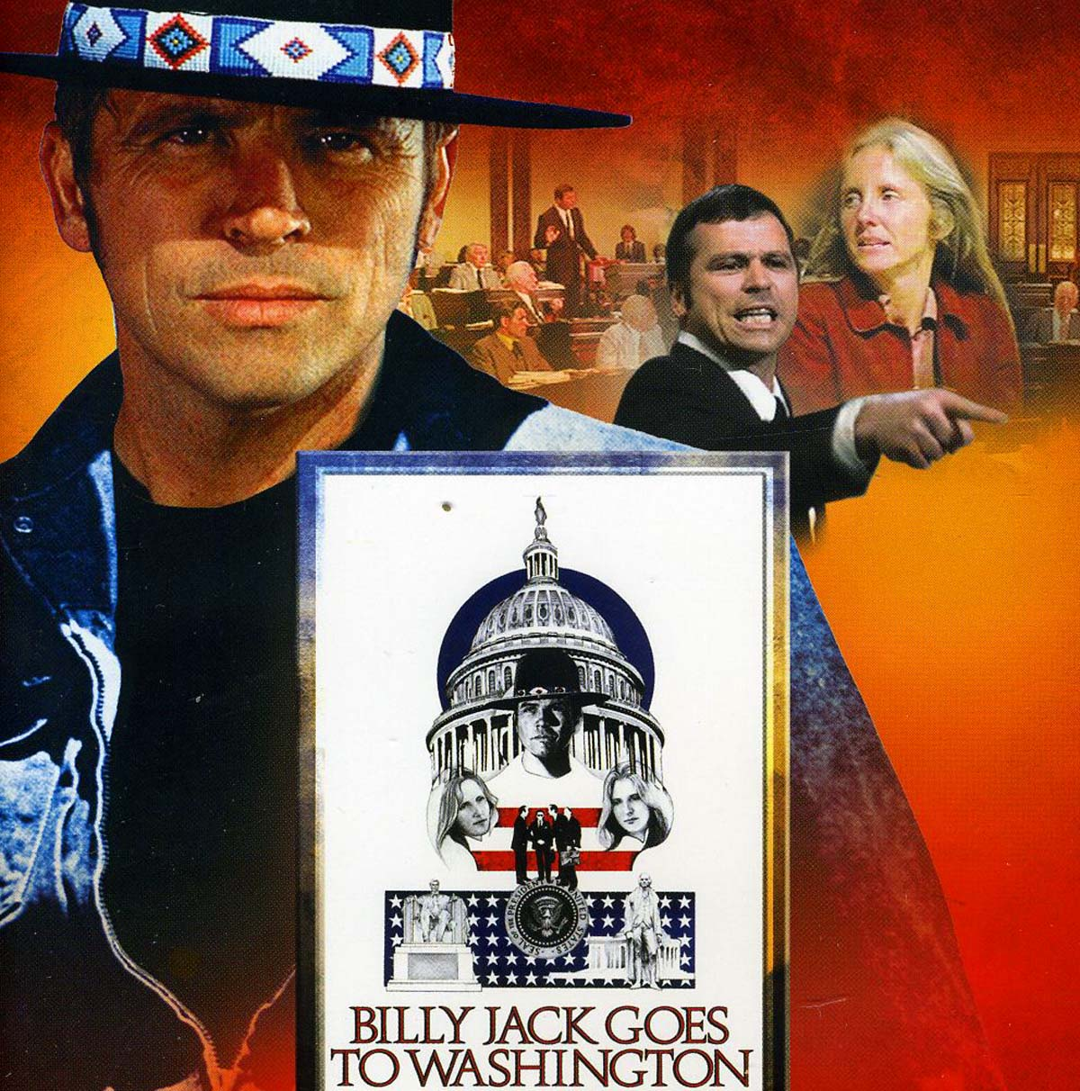 Billy Jack Goes to Washington poster Tom Laughlin