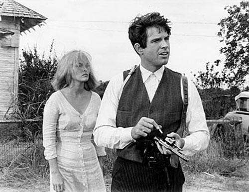 Faye Dunaway, Warren Beatty in Bonnie and Clyde
