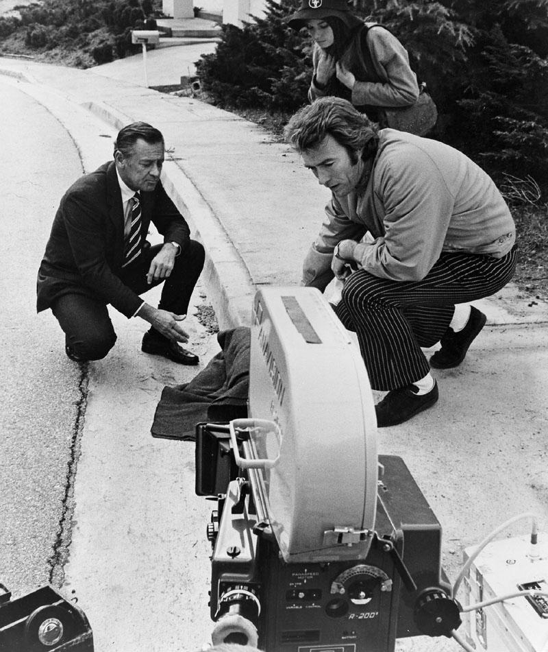 William Holden, Clint Eastwood, Kay Lenz in Breezy
