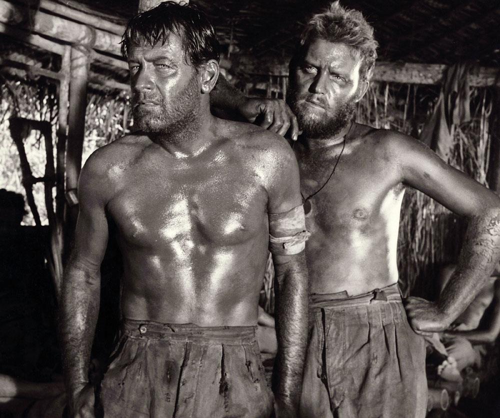 William Holden, Geoffrey Horne in The Bridge on the River Kwai