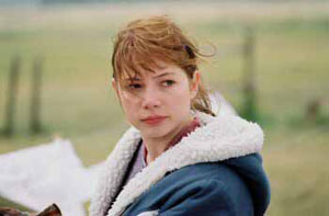 Michelle Williams in Brokeback Mountain