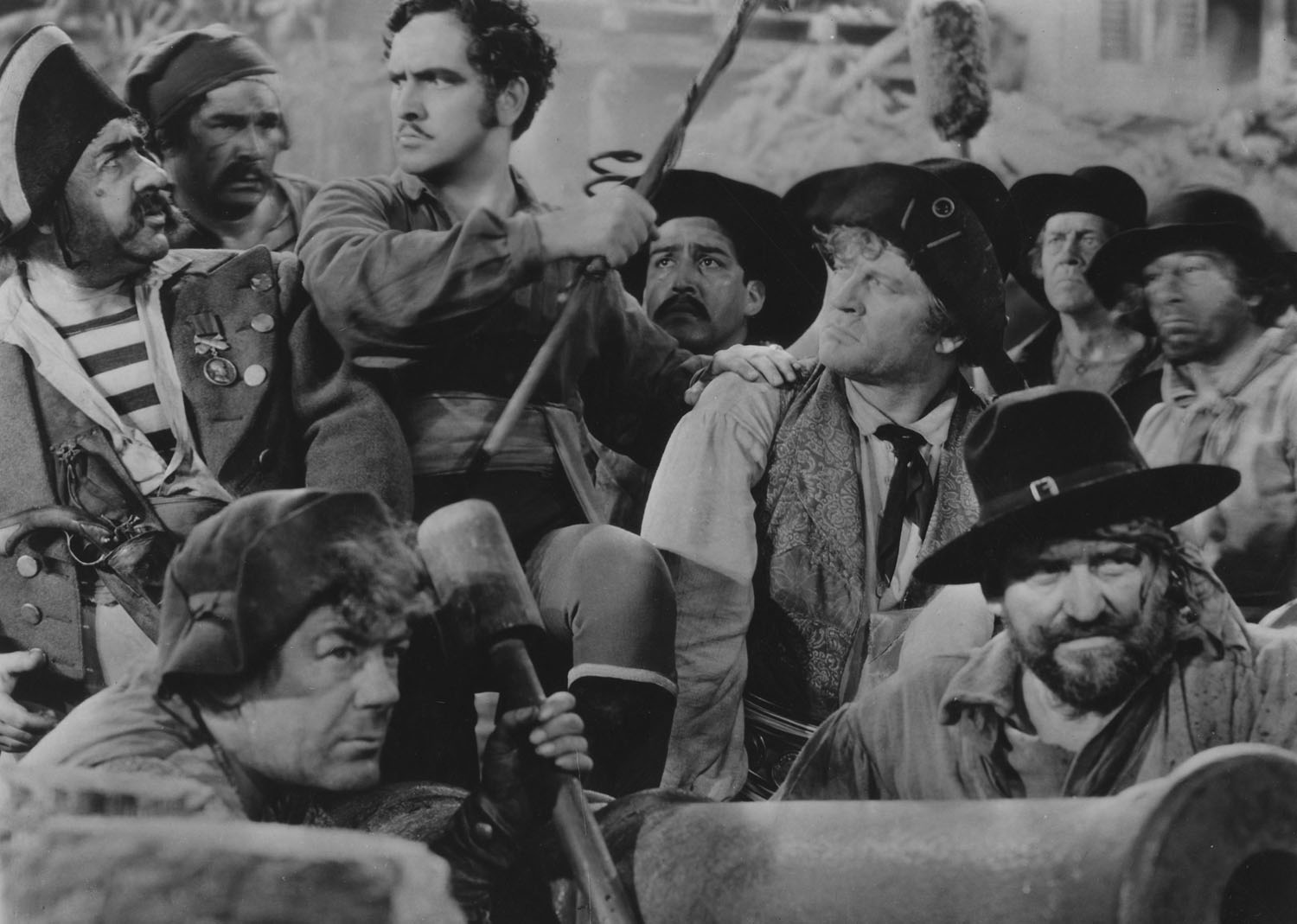 Fredric March in The Buccaneer