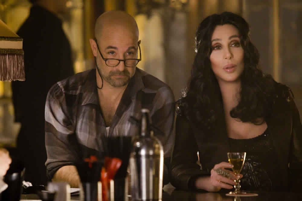 Stanley Tucci, Cher, Burlesque
